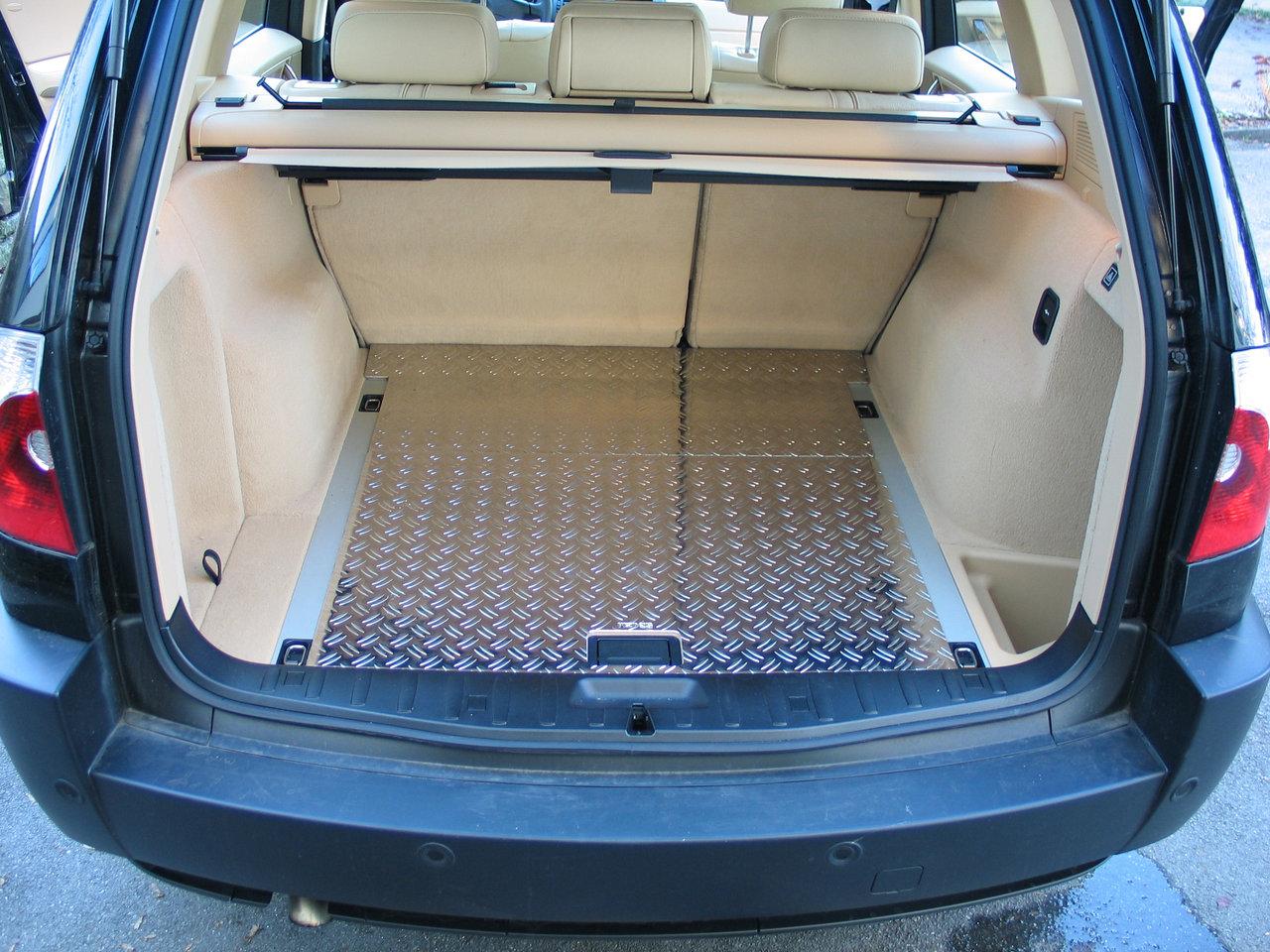 BMW X3 Typ E83/X83 Aluminium Ladefläche 2 Tlg.