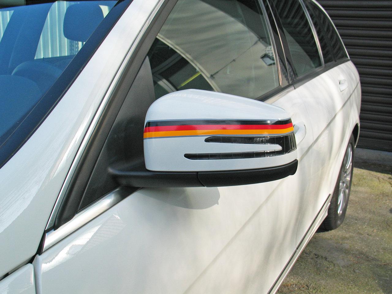fu ball wm 2014 car stripes deutschland auto fahne flagge. Black Bedroom Furniture Sets. Home Design Ideas