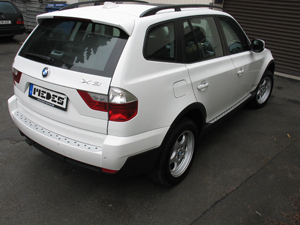 BMW X3 Typ E83/X83 Alu-Ladekante Medes Point