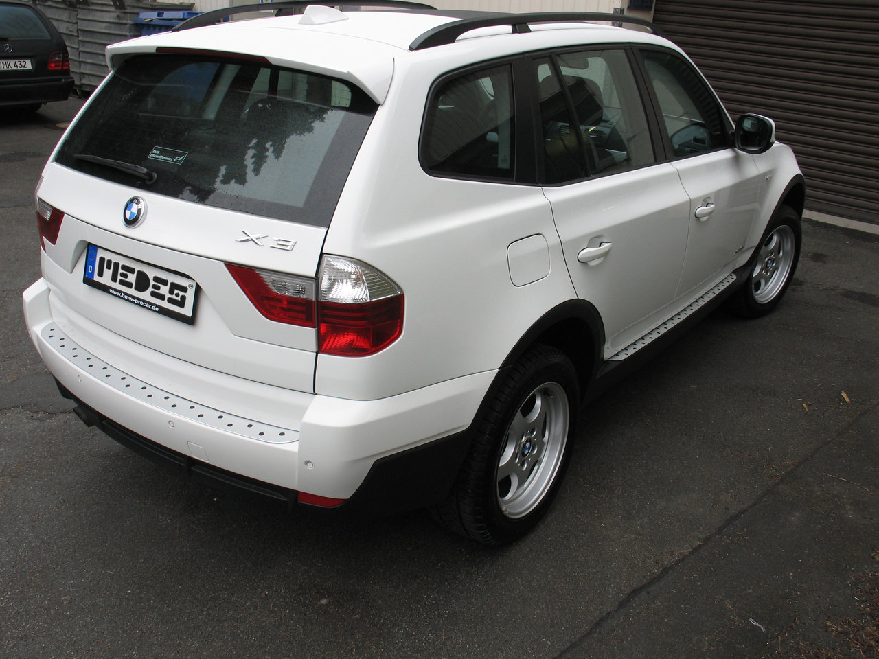 bmw x3 typ e83 x83 alu trittbretter micro medes point 4250955400004 ebay. Black Bedroom Furniture Sets. Home Design Ideas