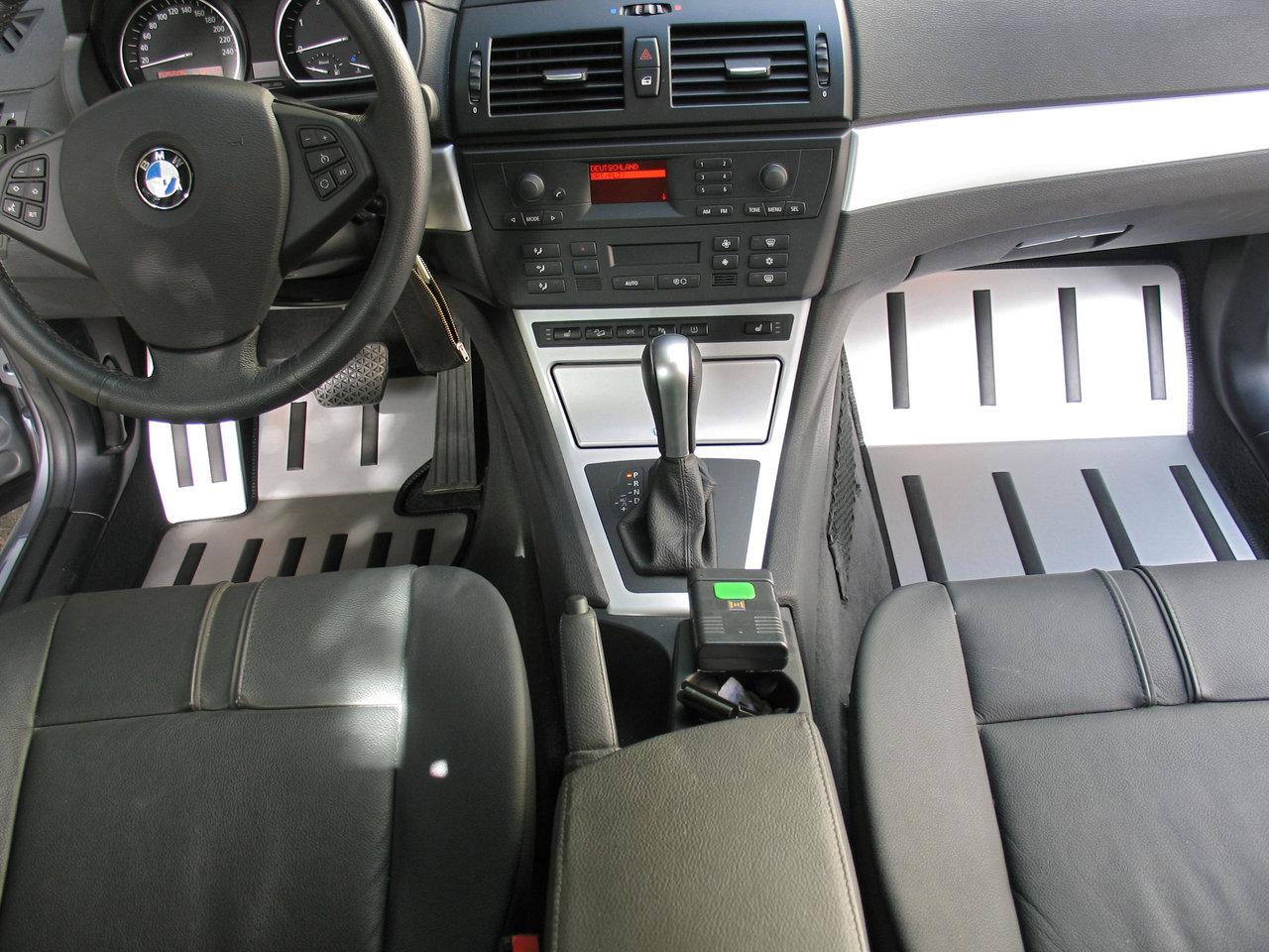 Fußmatten Kofferraumwanne Set für BMW X3 E83 2004-2010