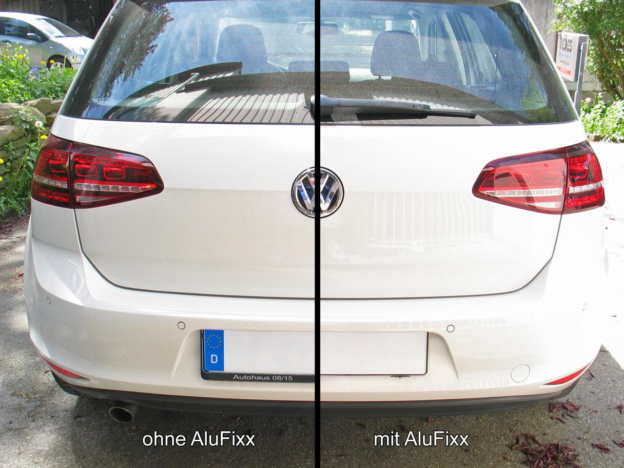2 x AluFixx Car Basic schwarz matt eloxiert VW Golf 7 / VII auch R ...